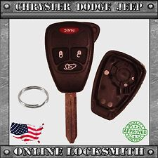 New Remote Key Replacement Case Shell 4 Button Chrysler Dodge Jeep M3N5WY72XX
