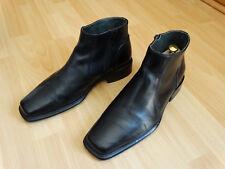 Luxus Herren Stiefelletten Boots Stiefel Leder schwarz italy Größe 43 370,00 7ca597f3fe