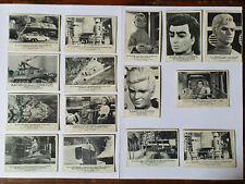 THUNDERBIRDS - 15 Large Cards Somportex - 1966 - VG/G