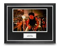 Jackie Chan Signed 16x12 Framed Photo Display Rumble in the Bronx Autograph COA