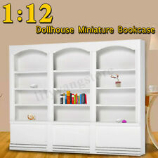 1/12 Dollhouse Miniature Furniture Library Display Bookcase Bookshelf Cabinet