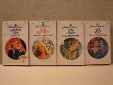 Lot Of 4 Paperback books,Harlequin Presents, by Weale, Craven, Wentworth & Lamb