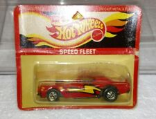 HOT WHEELS LEO INDIA TORNIO STOCKER SPEED FLEET RARE RED WITH YELLOW