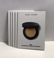 5 x Bobbi Brown Skin Moisture Compact Foundation sample