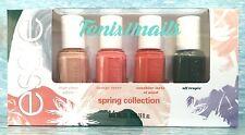 essie SPRING 4-pc Mini Nail Polish Gift Set ~ affair lover sunshine tropic NIB
