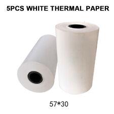"5 Rolls 2 1/4"" Thermal Receipt Paper Printer Sticker For POS Cash Register"