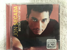 JON SECADA CD BETTER PART OF ME EXITOS ASI PAPI DENTRO DE TI EPIC