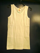 Chemise de corps vintage sans manches JET blanc T 2 ou 42-44 neuve emballée