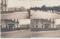 FRANCE ROYALTY Queen Isabella 1904 Furneral Paris 15 Vintage Postcards