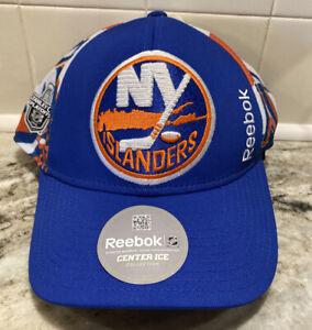 NEW Reebok Center Ice New York Islanders NHL Stanley Cup Playoffs Cap Hat