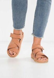 Clarks Originals RANGER SPORT Sandstone Women's Nubuck Sandals UK 5 D EU 38