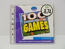 100 SMASH Win95 GAMES - 1998 PC GAME CD ROM
