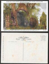 Old Panama Postcard - Ruins Destroyed by Bucaneer Morgan