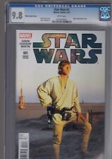 Star Wars 1 Luke Sywalker Movie Variant CGC 9.8 Marvel 2015 First Print