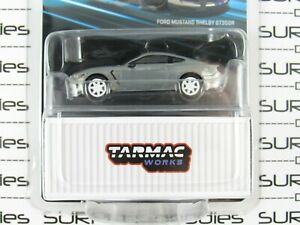 Tarmac Works 1:64 2020 Global64 White FORD MUSTANG SHELBY GT350R *Chase* RAW