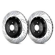 For Chevy Silverado 1500 99-04 Brake Rotors EradiSpeed+1 Drilled & Slotted