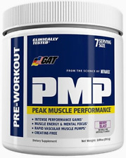 PMP Peak Muscle Performance Pre-Workout Powder 7/S 59.5g 1