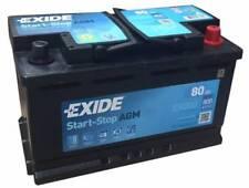 Exide EK800 Stop Start 12V 80Ah 800A TYPE 115 AGM VRLA Car Battery - No Spill
