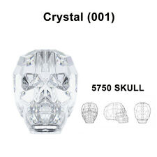 2989414973ee9 Crystal Skull Beads in Swarovski Crystal & Cut Glass Craft Beads for ...