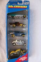 Vintage Hot Wheels '50's Cruisers Gift Pack Set Of 5 1998 21076