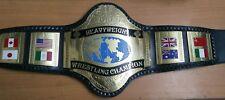 Wwf Hogan réplica mundial de peso pesado de 86 placas de latón Correa, Excelente Calidad!!!