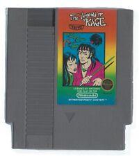 NINTENDO The Legend of Kage Vintage NES Video Game