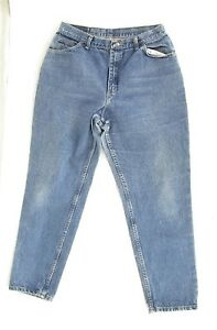Gitano Mom Jeans Vtg 90s High Waisted 18 Tapered Leg Blue Denim Womens 33.5""