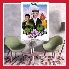 TOILE AFFICHE 1981 CINEMA FILM POSTER PHOTO LA SOUPE AUX CHOUX LOUIS FUNES DVD