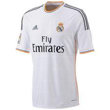 Real Madrid Adidas genuino blanco hombre Home manga corta camiseta de Fútbol Large