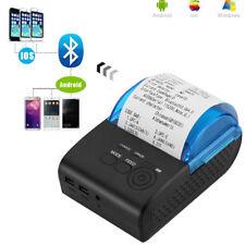 Wireless Bluetooth Thermal Label Printer 58mm Sticker Receipt Printing Machine