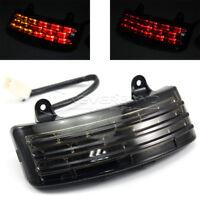 Tri-Bar Fender LED Tail Brake Turn Signal Light for Harley Touring Street Glide