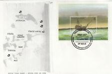 More details for (89371) british virgin islands fdc shipwrecks minisheet 1987