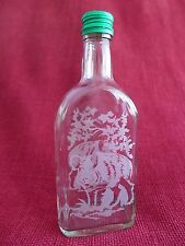 Glass Bottle Flask with Hunting Fishing Design Idea For the Gift Wild Boar 6-M