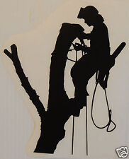 TREE CLIMBER Sticker/Decal Tree Surgery/Forestry/Tree Surgeon use.