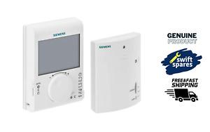 Siemens RDJ100RF / SET Wireless Programmable Room Thermostat & Receiver