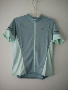 Pearl Izumi Womens Select Escape Short Sleeve Jersey Arctic/Mist Green Sz XL NWT