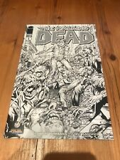 The Walking Dead Issue #1 Wizard World New York City 2013 B&W Variant Neal Adams