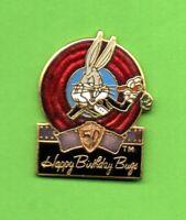Pin's lapel pins pin BUGS BUNNY 50th Anniversaire Happy Birthday WARNER BROS 89