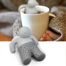 Teezange Teefilter Teesieb Tassensieb Küchenhelfer Tee Männchen Teeei