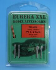 Eureka XXL 1:35 Towing Cable for KV-1/2 Early Tanks Resin Metal Update #ER-3508