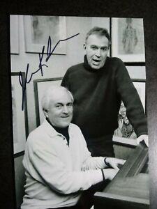 JOHN KANDER Authentic Hand Signed Autograph 4X6 Photo - COMPOSER CABARET