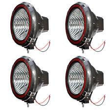 9 Inches 4x4 Off Road 6000k 55w Xenon Hid Fog Work Lamp Light Flood 4pcs