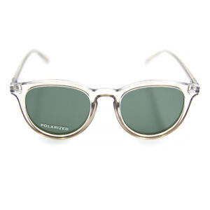 NEW Le Specs Fire Starter Polarised Clear Grey Green (1902046) Sunglasses