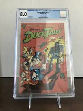WALT DISNEY'S DUCKTALES1988, Gladstone #1 CGC 8..0 VF White Pages!