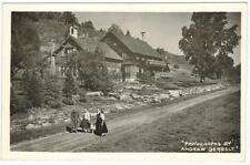 Cor Unum Home of the Trapp Family Stowe Vermont to California 1955 - Photo Rppc