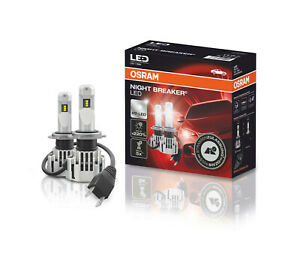 H7 NIGHT BREAKER LED erste legale LED-Nachrüstlampe 220% mehr Helligkeit OSRAM..