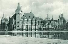 AK, photo, Budapest, château vajda-Hunyad, pour 1900 (d) 5026-4