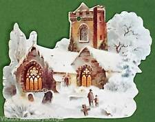 Church w/Bell Tower Victorian Christmas Ornament
