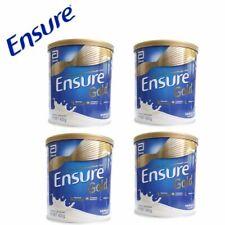 4Tins Ensure Gold Vanilla Flavored : Original Nutrition Milk Powder 400g - HALAL