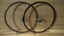 NUKE PROOF Carbon Front and Deore XT Parallax rear hub laced in Mavic Rims